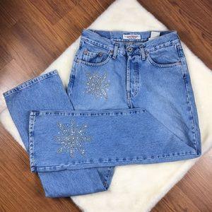 BIG STAR Vintage Bling Comet Boot Jeans Sz 30